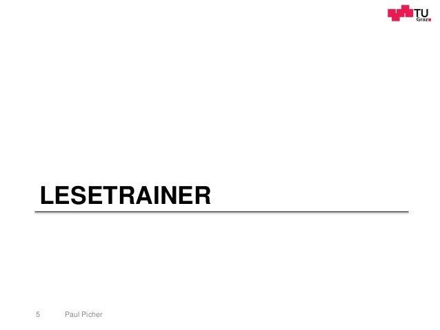LESETRAINER Paul Picher5