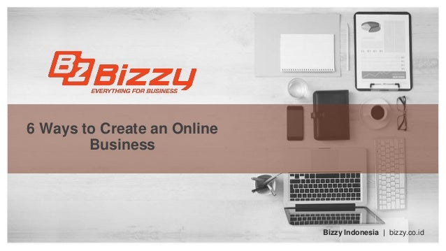 how to create an online business