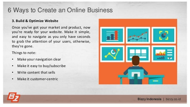 Bizzy Indonesia   bizzy.co.id 3. Build & Optimize Website Once you've got your market and product, now you're ready for yo...