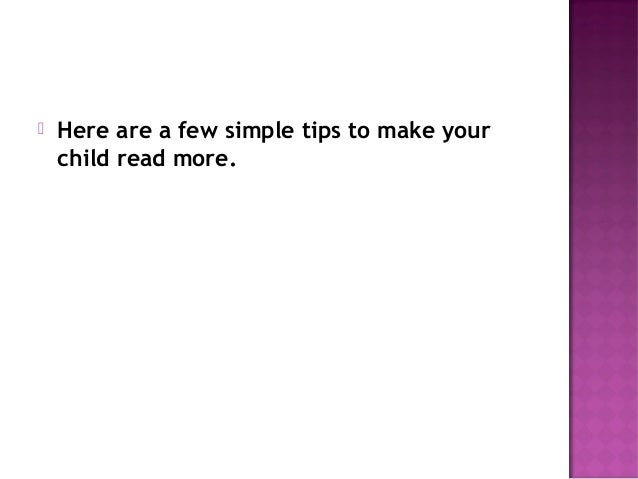6 ways to develop good reading habits in Slide 3
