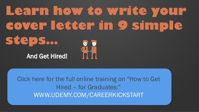 6 ways to make your Graduate Cover Letter stand out