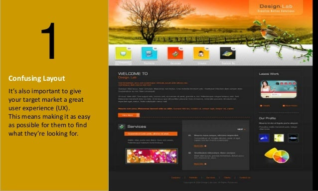 6 Web Design Mistakes That Could Kill Your Conversion Slide 2