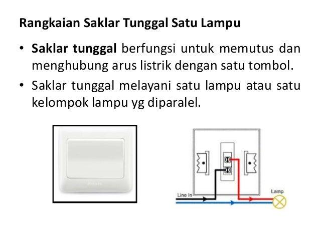 6 wiring diagram rangkaian saklar tunggal 2 lampu ccuart Images