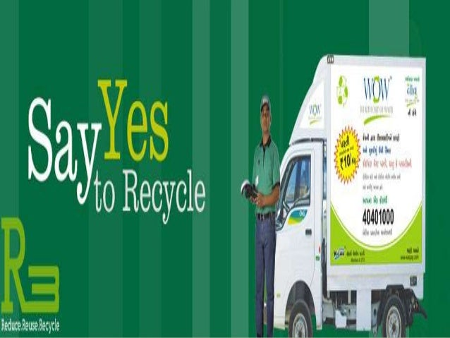 Wealth Out Of Waste Project In Ahmedabad India