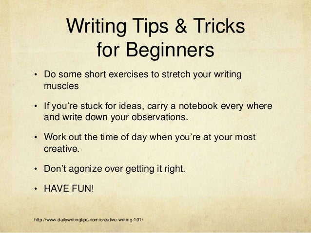 daily writing tips At feedspot you can follow and share topics and news sites of your interest.