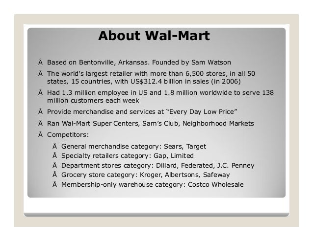 half a century of supply chain management at wall mart Rcsc 350  supply chain management  half a century of supply chain management at walmart  half a century of supply chain management at walmart  m 27-jan.