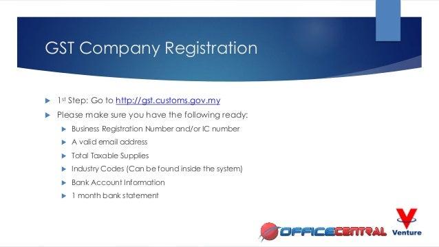 Malaysia GST Company Registration & eVoucher Registration for SMEs Slide 2