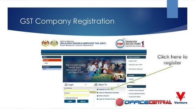 Malaysia GST Company Registration & eVoucher Registration for SMEs Slide 3