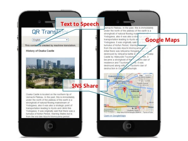 Texts can be edited in a Word-like interface