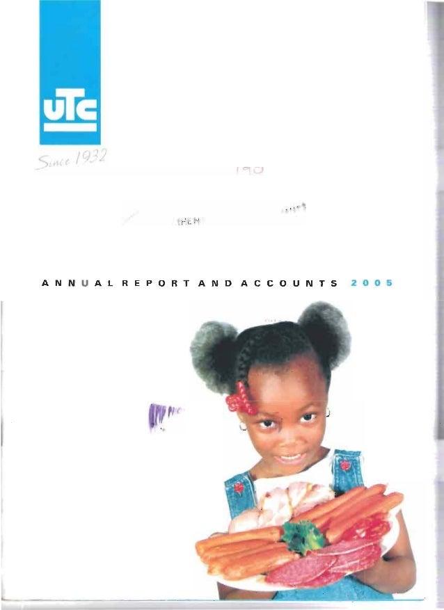 Utc annual report 2005