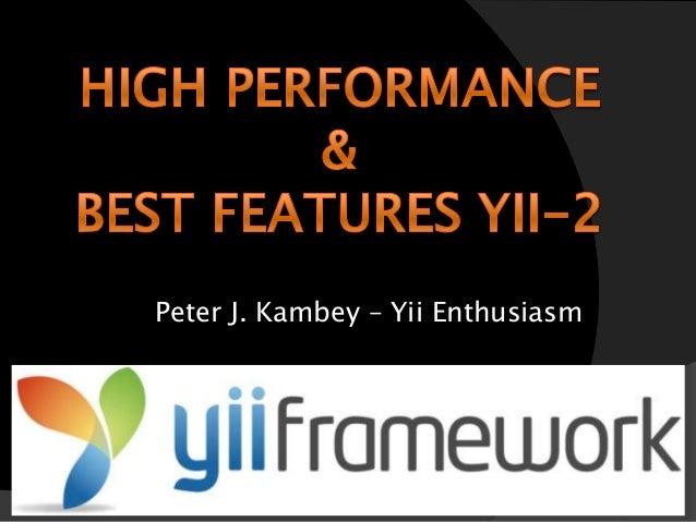 Yii2 - Presentasi Yii2 di PanadaConf, 1 November 2014
