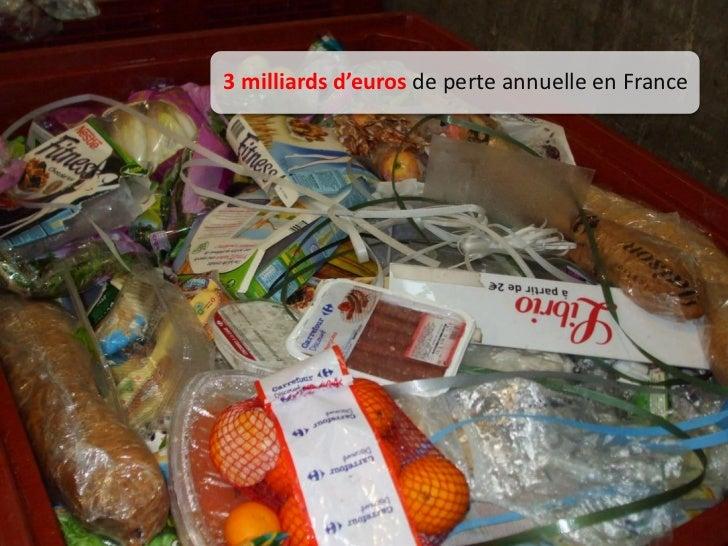 3 milliards d'euros de perte annuelle en France