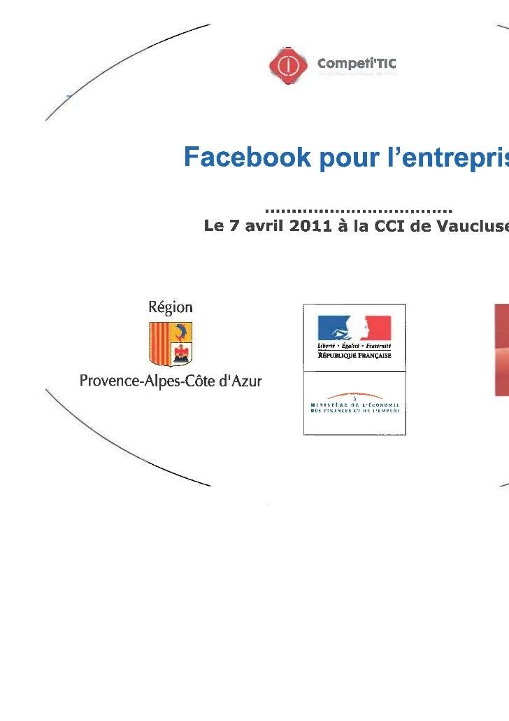 facebook pour l'entreprise