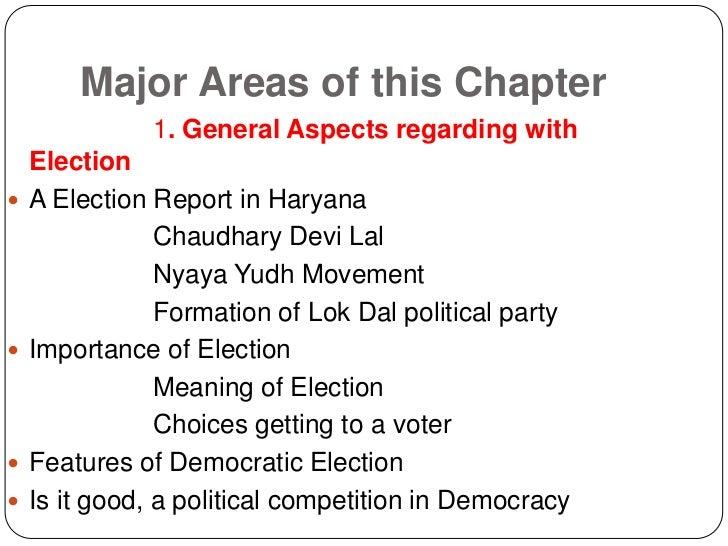 Electoral Politics Slide 2