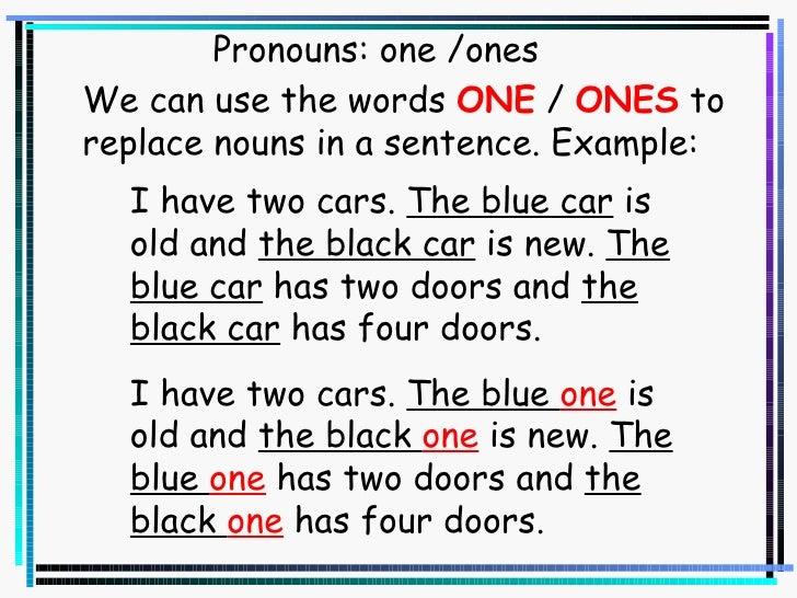pronoun usage essay