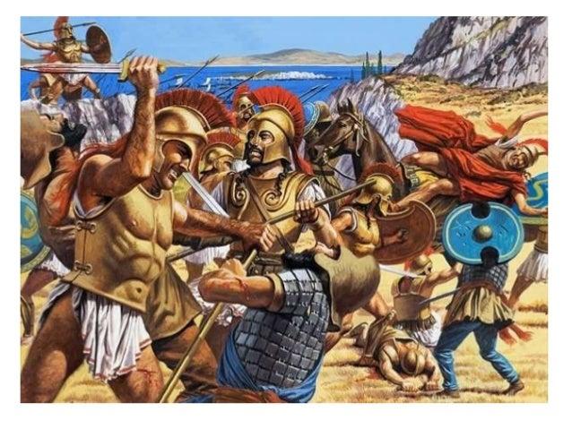 ΠΕΡΣΕΣ ΕΛΛΗΝΕΣ ► η β΄ φάση της μάχης: η κύκλωση ▲ Περσική περικεφαλαία