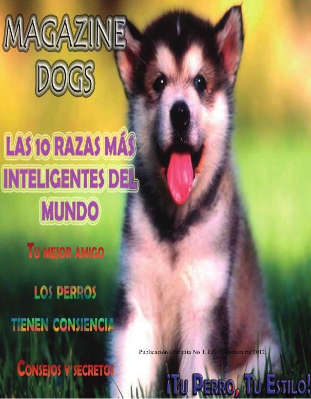 Magazine dogs - Bogotá D.C. 2012                                                     CUIDADOSPublicación Gratutita No 1. E...