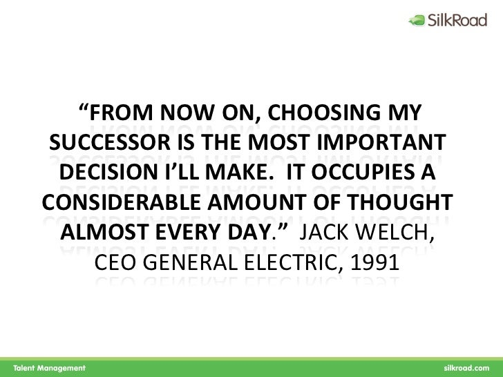 investigation on employee retention strategy at general electric Motivate your employees like jack welch former ceo of general electric (ge) and current businessweek columnist, who once said: no company.