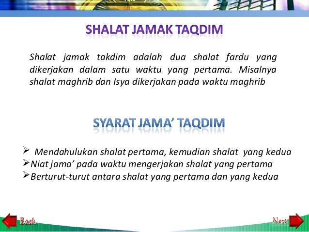 7 13 Shalat Jamak Dan Qashar