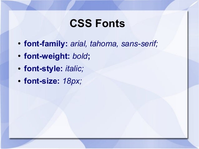 an introduction to cascading style sheets Introduction style sheets, cascading style sheets and css are all mean the same thing and are the modern way of defining the design and layout of your web.