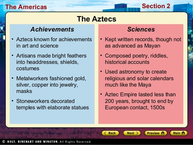 World History Ch. 7.2 Notes