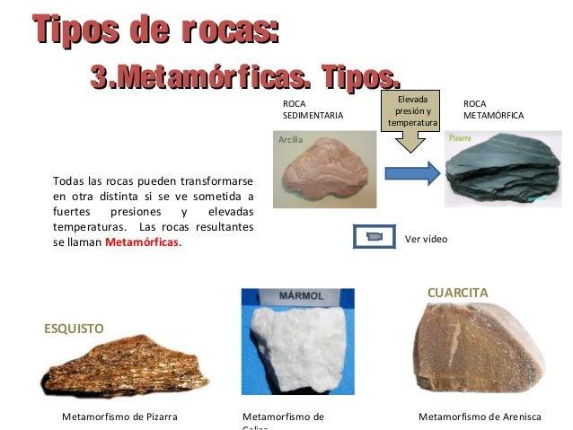 7 la geosfera rocas y minerales for Clasificacion del marmol