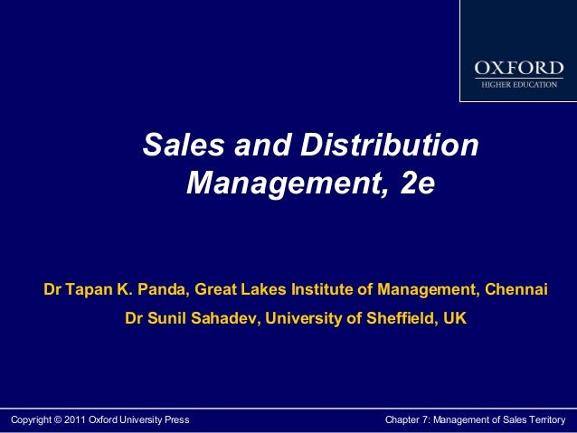 Download Sales And Distribution Management.pdf