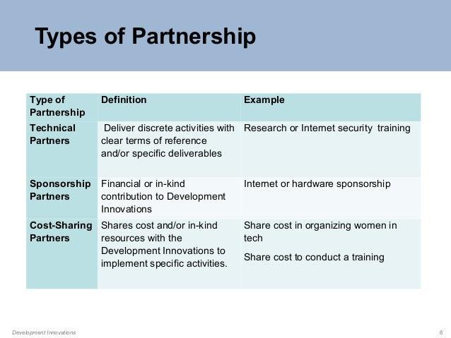 implementing partner definition relationship