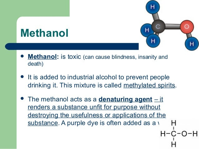 Can Methanol Cause Blindness