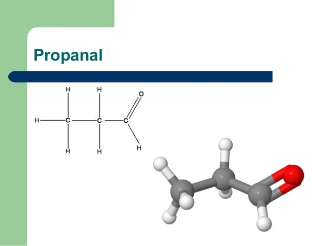 Is Propanal A Gas At Room Temperature