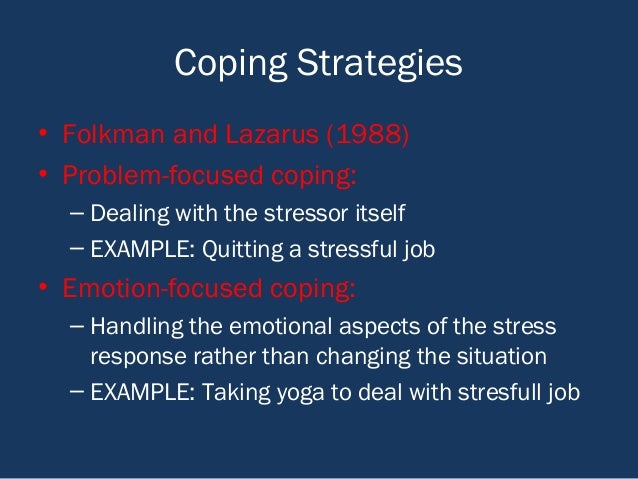 Health Psychology Stress