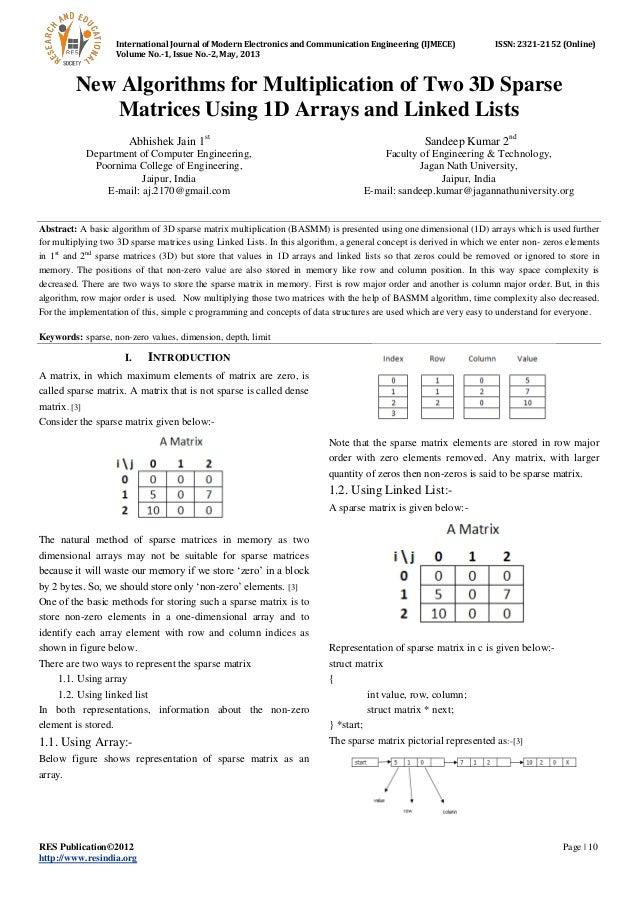 International Journal of Modern Electronics and Communication Engineering (IJMECE) ISSN: 2321-2152 (Online) Volume No.-1, ...