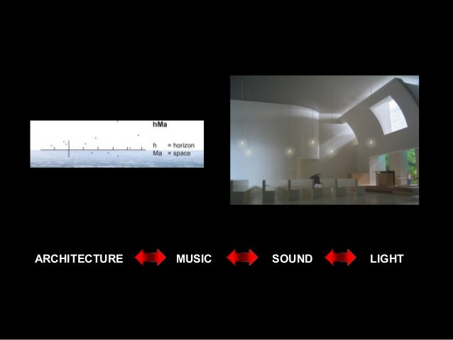 ARCHITECTURE MUSIC SOUND LIGHT