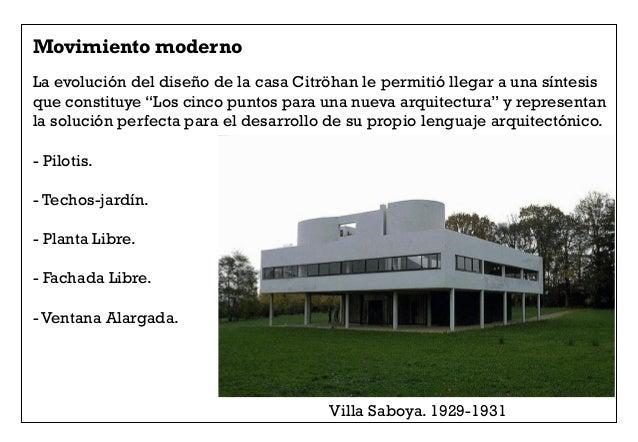 5 le corbusier estilo internacional - Movimiento moderno ...