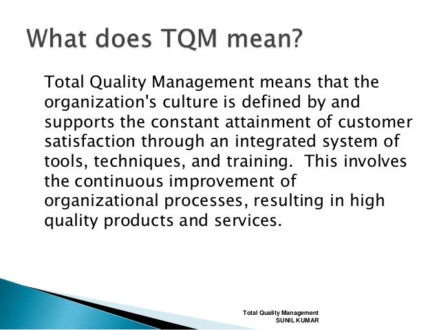 motorola total quality management Big q factor is commonly used in various terms of total quality management, for example, tqm, tqc, sqc,  motorola, corning, 3m, down chemicals, toyota.