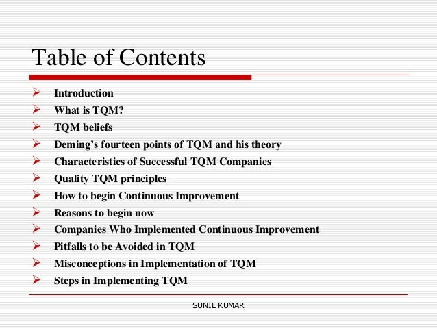 tqm implementation at suzuki motors Advantages & disadvantages of total quality management tqm is expensive to implement implementation often comes with additional training costs.