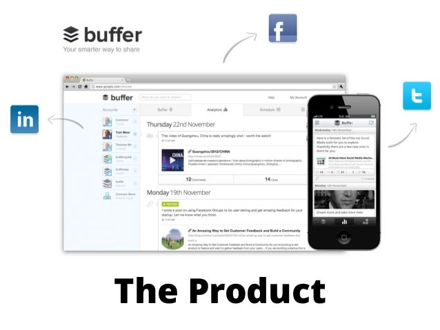 Buffer @Hustle Con - From Revenue on Day 3 to $3.5 Million A Year: Starting Lean and Staying Lean Slide 3