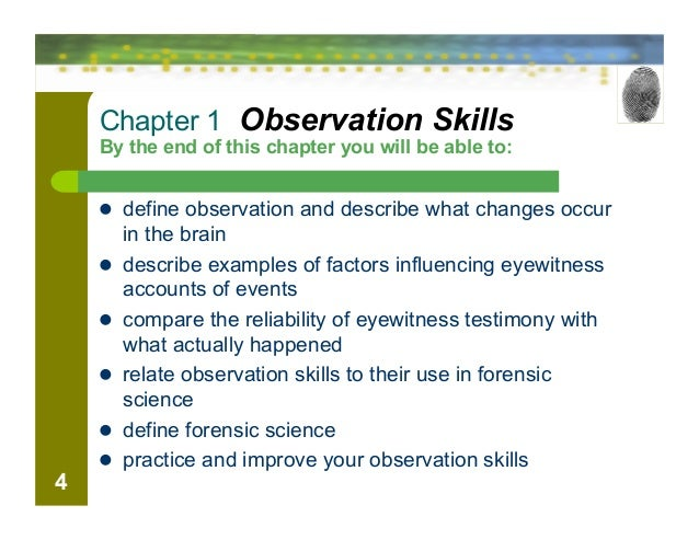 7 Observations