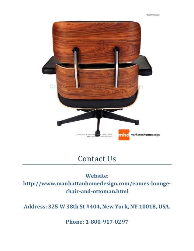 Eames Lounge Chair: Manhattan Home Design (1800-917-0297)
