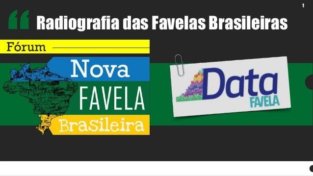1  Radiografia das Favelas Brasileiras