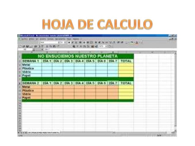 ¿Que es una hoja de calculo?  • Una hoja de cálculo (o programa de hojas de cálculo) es un software a  través del cual se ...