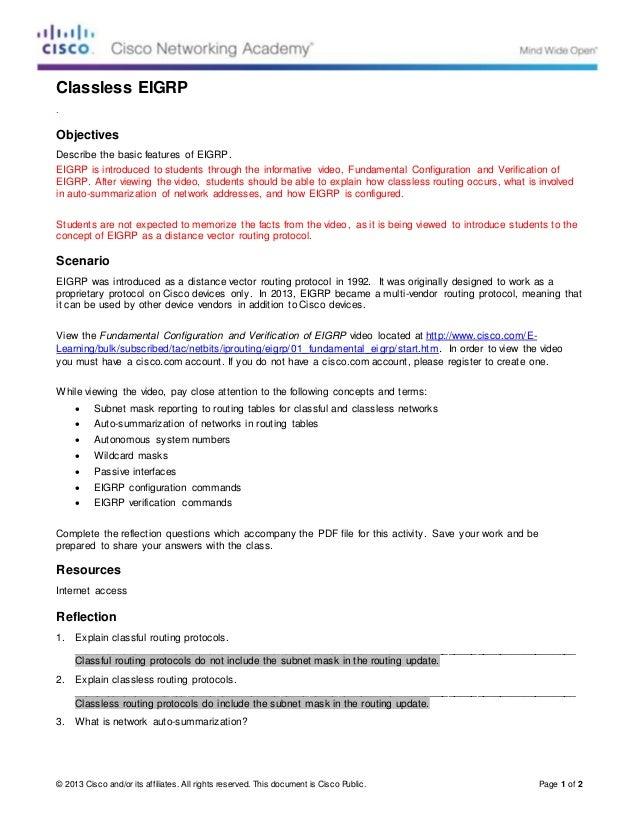 Routing Protocols Concepts Pdf