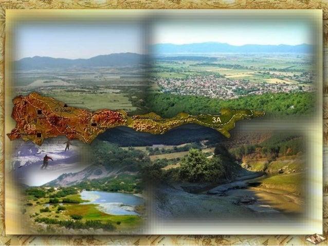 Най-ниските им части са заети от плодородни полета:  Софийско, Карловско, Казанлъшко, Сливенско и др.  Стара планина ги за...