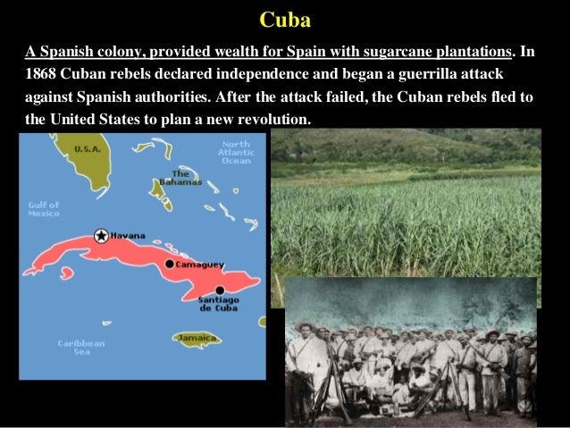 the features of the war of independence 1895 1898 The cuban war of independence (1895–1898) and the spanish-cuban-american war (1898)  this aspect features prominently in the ending of la emboscada,.