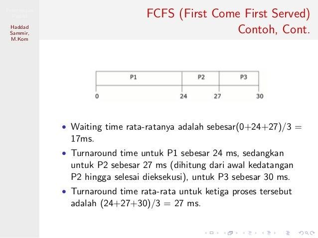 7 Algoritma Scheduling