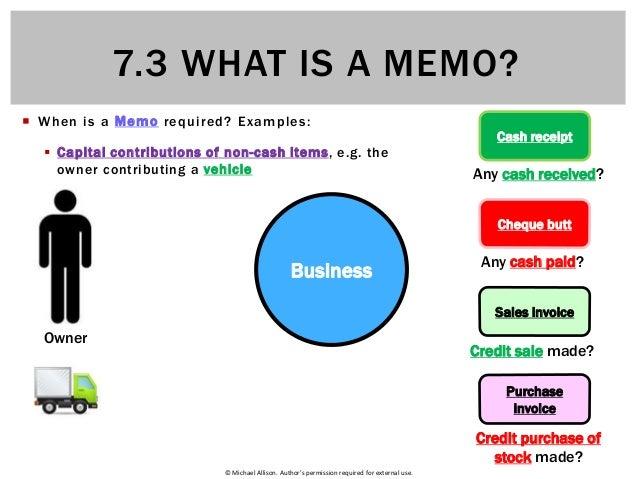what is an internal memo