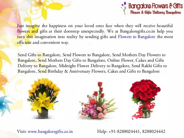 Online Birthday Gifts Bangalore Just Imagine The Happiness On Your Loved Ones Face When They Will Receive Beautiful Flowers And Send Mothers Day
