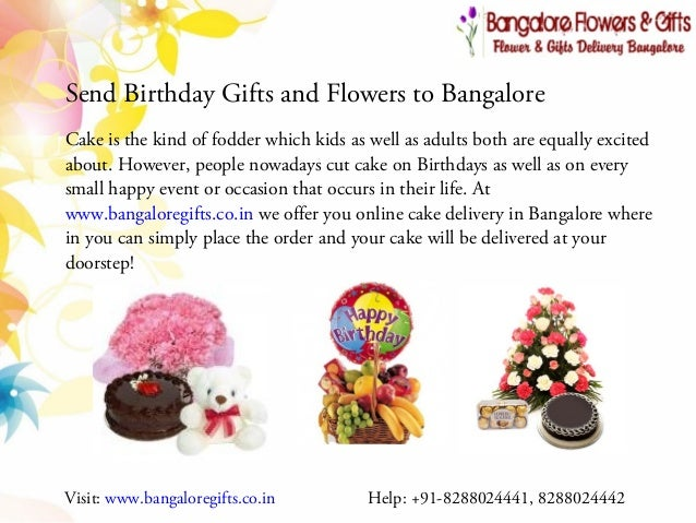 ... 8288024442; 3. Send Birthday Gifts and Flowers to Bangalore ...