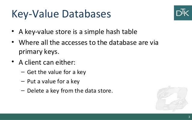 7. Key-Value Databases: In Depth