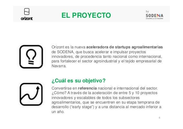 EL PROYECTO Orizont es la nueva aceleradora de startups agroalimentarias de SODENA, que busca acelerar e impulsar proyecto...